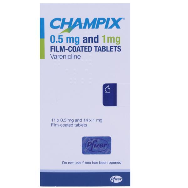 Champix 0.5mg and 1mg