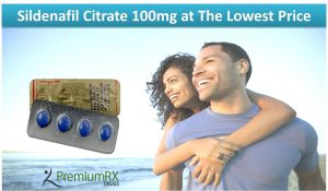 Sildenafil Citrate 100mg at The Lowest Price