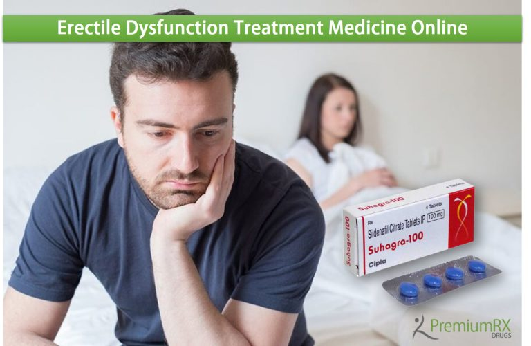 Erectile Dysfunction Treatment Medicine Online
