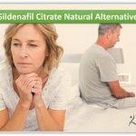 Sildenafil Citrate Natural Alternative