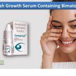 Eyelash Growth Serum Containing Bimatoprost