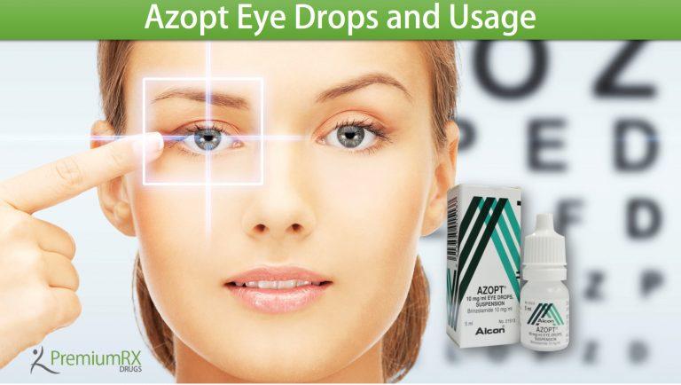 Azopt Eye Drops And Usage