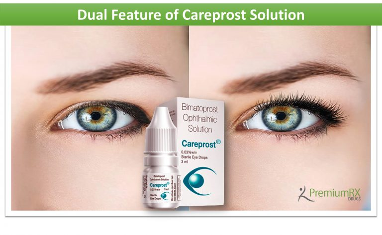 Dual Feature of Careprost Solution