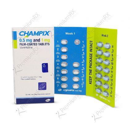 Champix Starter Pack  - 0.5mg and 1 mg