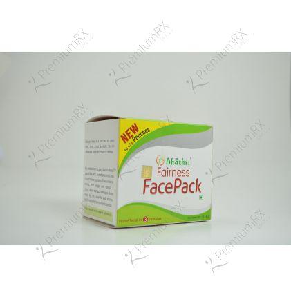 Dhathri Fairness Face Pack Sachet