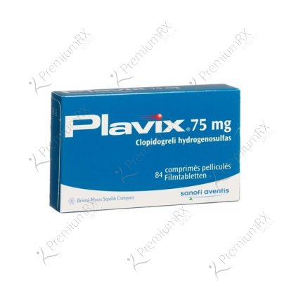 Plavix 75mg (clopidogrel)