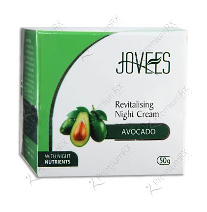 Avocado Night Cream (For Normal to Dry and Dry skin) 50 gm