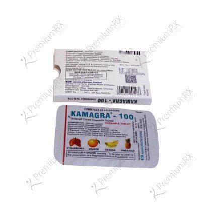 Kamagra Chew Tablets - 100 mg