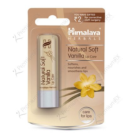 Natural Soft Vanilla Lip care (Himalaya) - 4.5gm