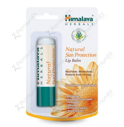 Natural Sun Protection Lip balm (Himalaya) - 4.5gm