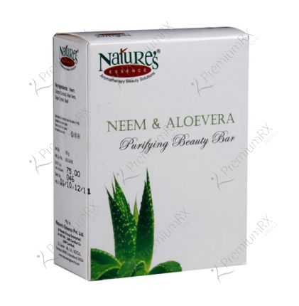 Neem & Aloevera Soap (Purifying Bathing Soap) 150 gm