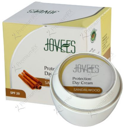 Sandalwood Protection Day Cream with SPF20) 50 gm