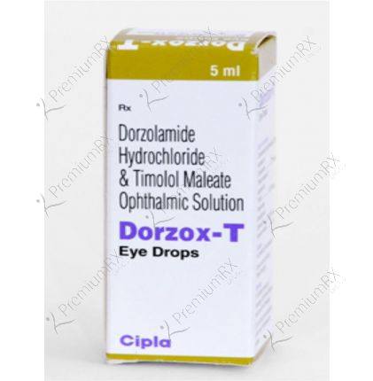 Dorzox T  5 ml Eye Drop