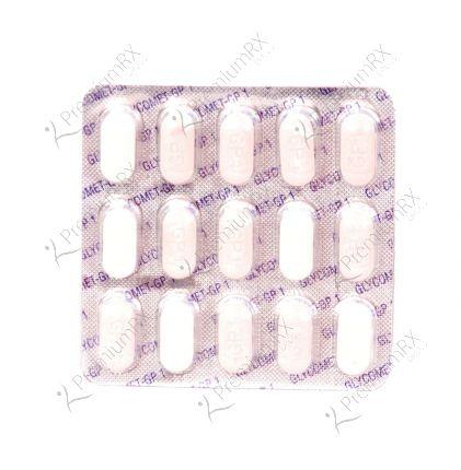 Glycomet GP  (500+1)mg