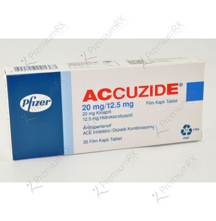 Accuzide Forte  - 20/12.5 mg
