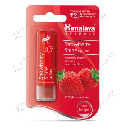 Strawberry Shine Lip care (Himalaya)