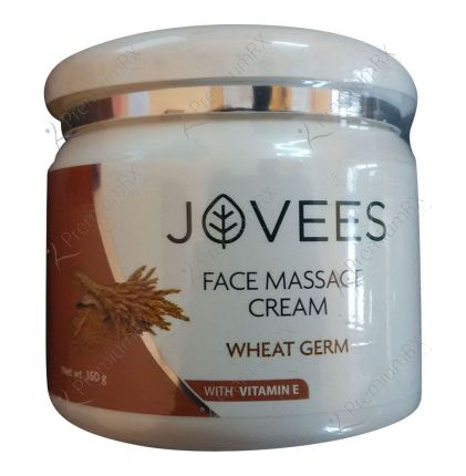 Wheat Germ with Vitamin E Face Massage Cream ( For Normal to Dry and Dry skin) 350 gm