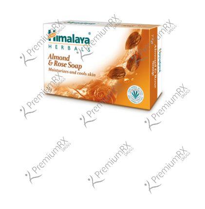Almond & Rose Soap (Himalaya) - 75gm