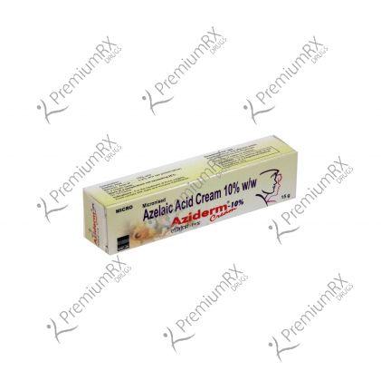 Aziderm Cream - 10 % (15gm) (Azelaic Acid)