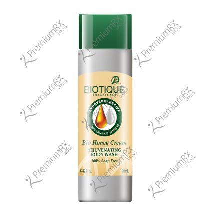 Bio Honey Cream 100% Soap Free (Lighting Body Wash) 190 ml