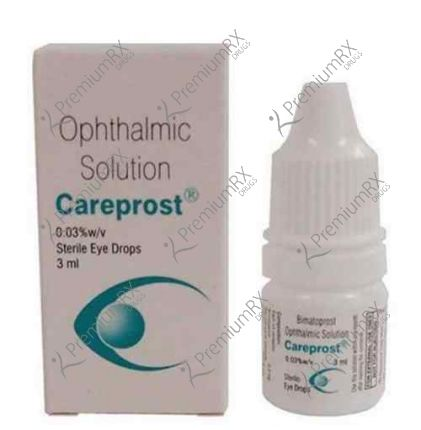 Careprost 3 ml With Brush with FREE SHIPPING