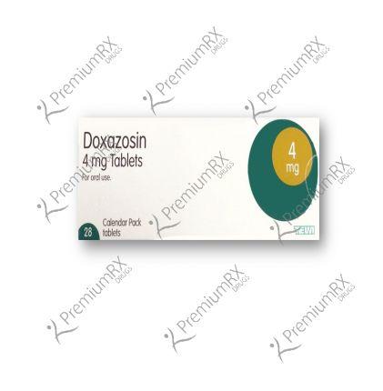 Doxazosin Tab  4mg