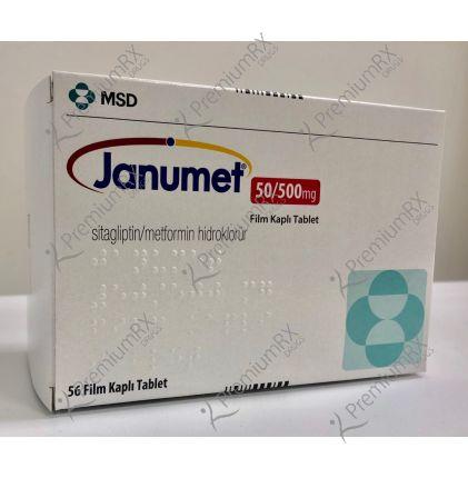 Janumet 50  500 mg
