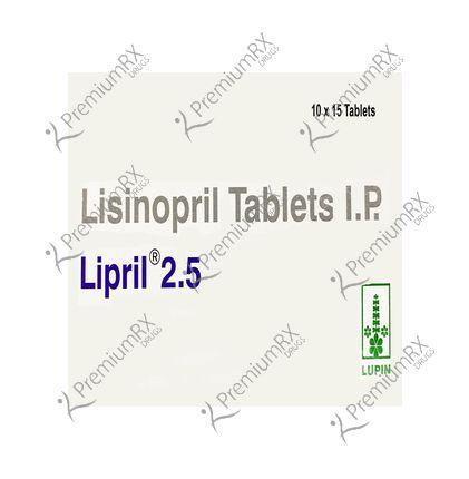Lipril 2.5mg