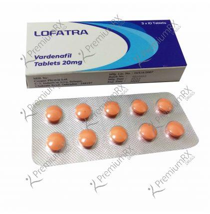Lofatra (Vardenafil) 20mg