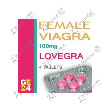 Lovegra (For Womens Only) - 100mg