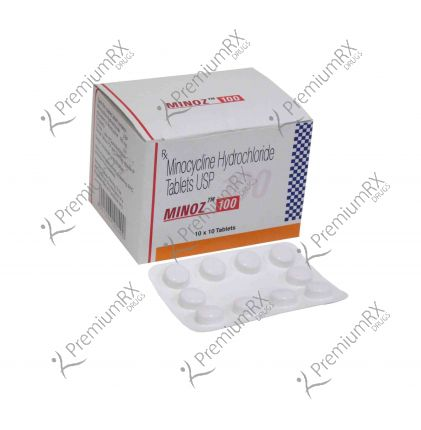 Minoz 100mg (Minocycline Hydrochloride)