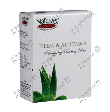 Neem & Aloevera Soap (Purifying Bathing Soap) 150 gm