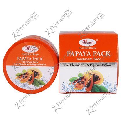 Papaya Pack (De-Pigmentation Pack) 125 gm