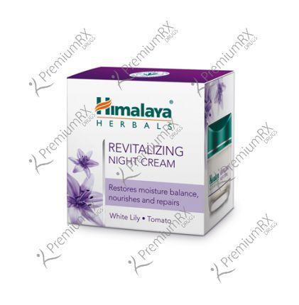 Revitalizing Night Cream White  (Himalaya) - 50gm
