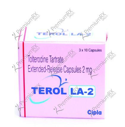 Terol  - 2mg(Tolterodine Tartrate)
