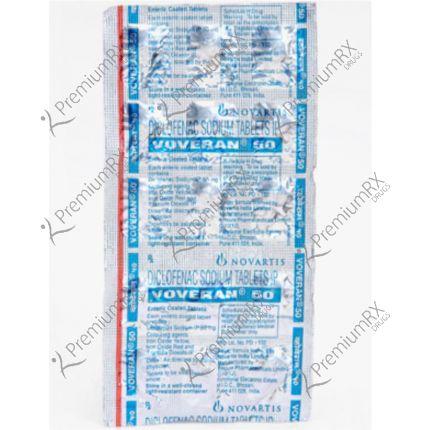 Voveran 50mg (Diclofenac 50 mg )
