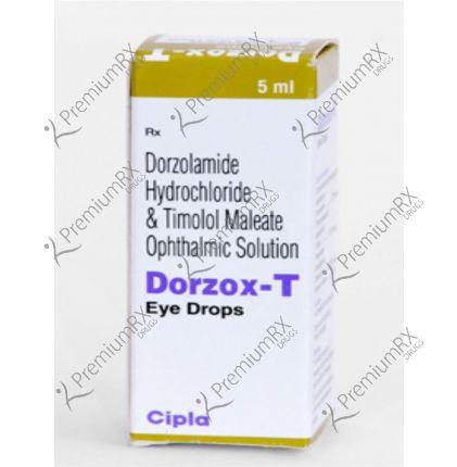 Dorzox T  5 ml Eye Drop