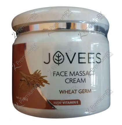 Wheat Germ with Vitamin E Face Massage Cream ( For Normal to Dry and Dry skin) 50 gm