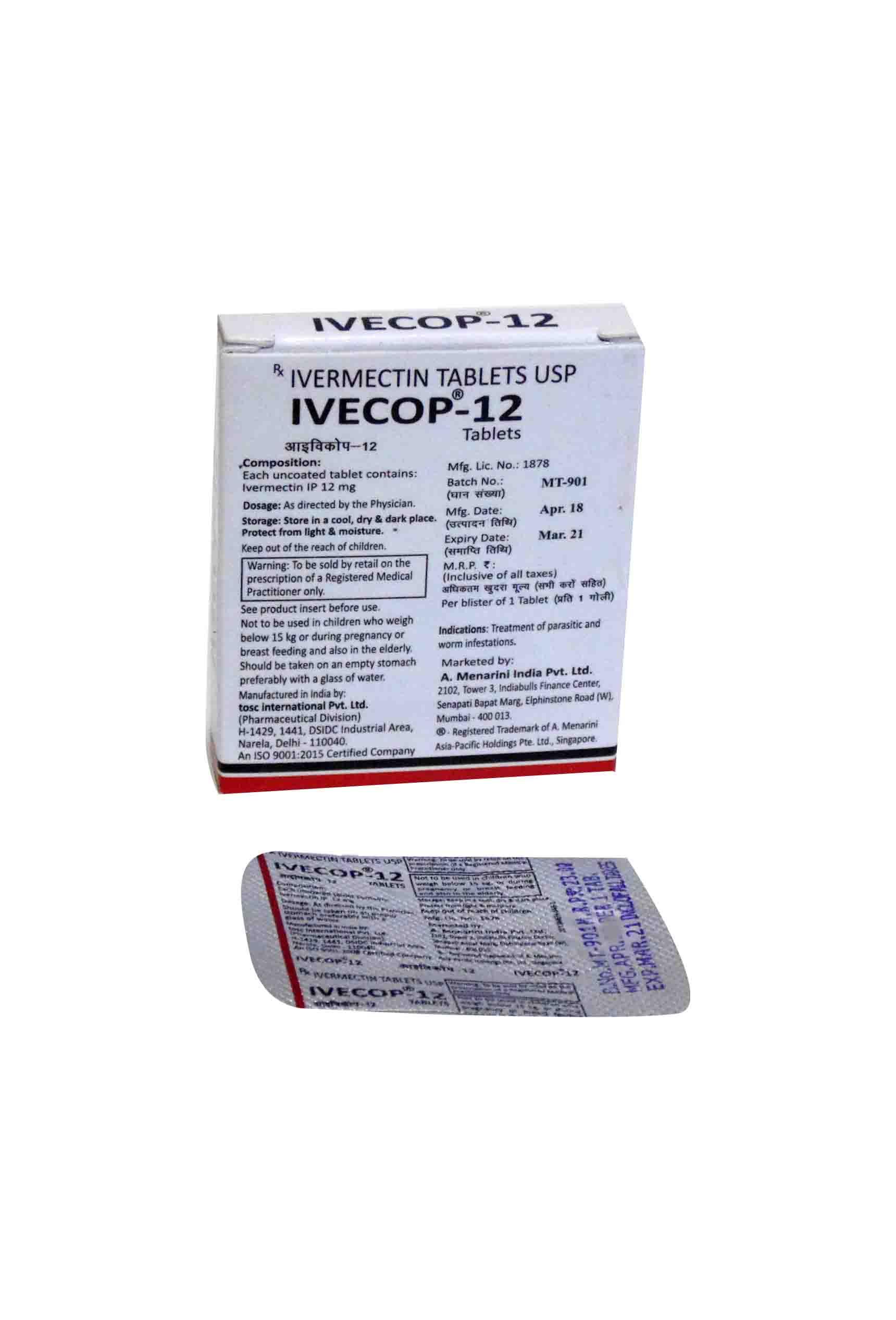 Ivecop 12 mg