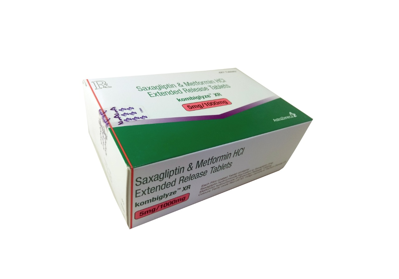 Kombiglyze XR 5 1000 mg