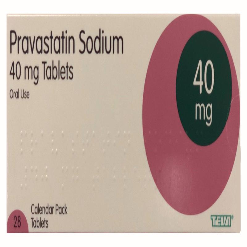 Pravastatin 40 mg